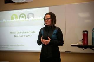 Conférence au Cégep St-Lawrence