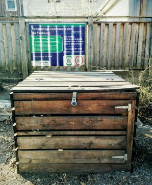 Compostière communautaire